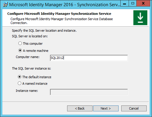Basic MIM Configuration to Support SharePoint 2016 · The